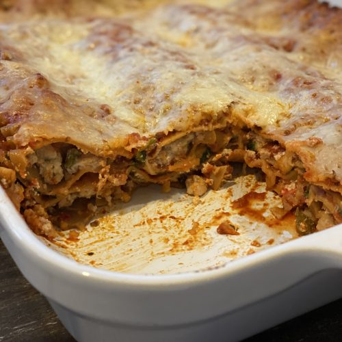 My Turkey Lasagna Recipe